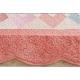 Мягкий детский ковер розового цвета для девочек