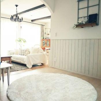 Купить белый ковёр JumKids