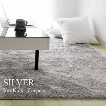Сервый ковёр купить с ворсом. Фото серого ковра в интерьере
